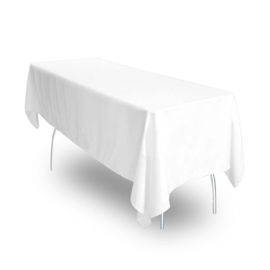 70u2033 X 108u2033 White Tablecloth